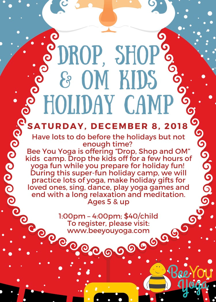 Drop, Shop & OM Kids Holiday Camp