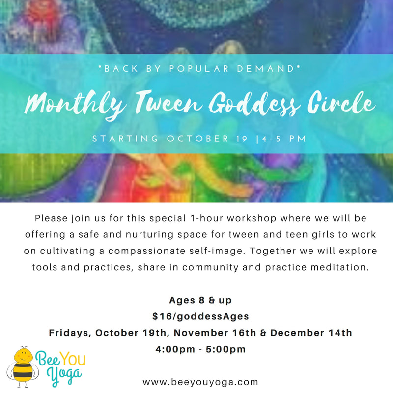 Monthly Tween Goddess Circle