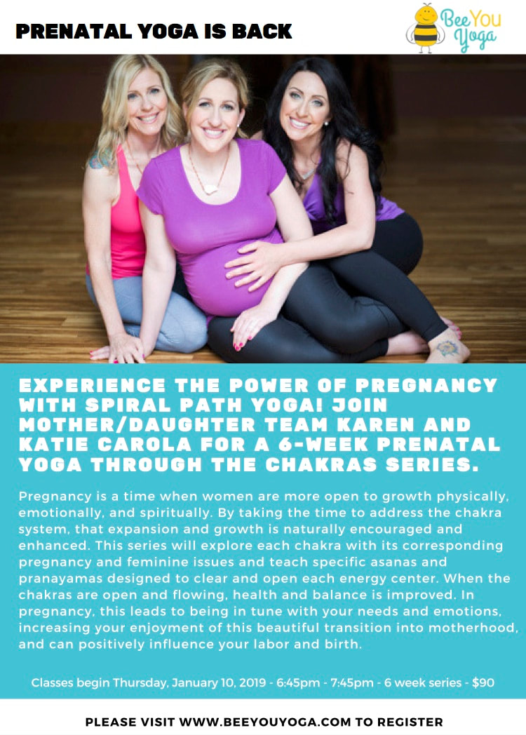 Prenatal Yoga with Spiral Path Yoga