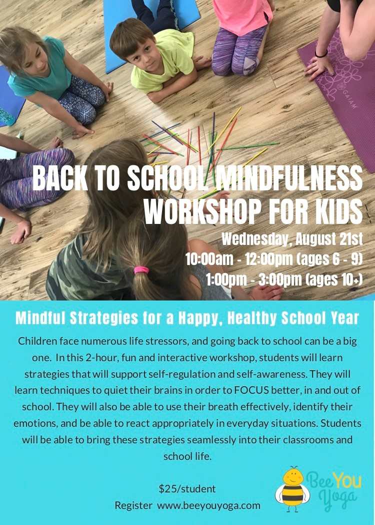 Back to School Mindful Strategies for a Happy, Healthy School Year